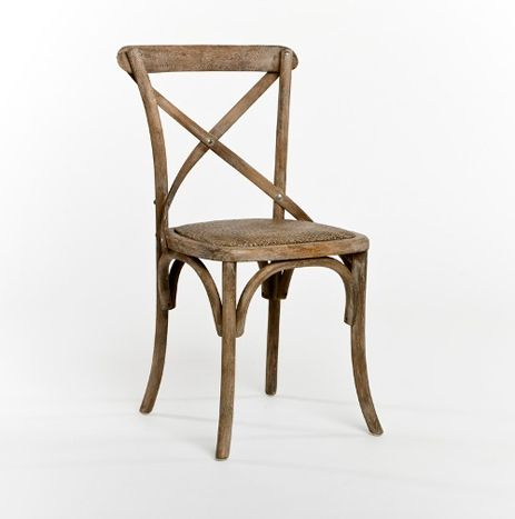 Limed Grey Oak French Cafe Chair From Bridge Furniture U0026 Props, LLC. $125.