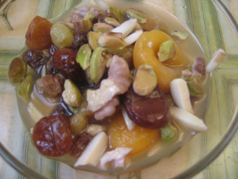 Afghan New Year Dried Fruit Medley Afghanistan Afghan Food
