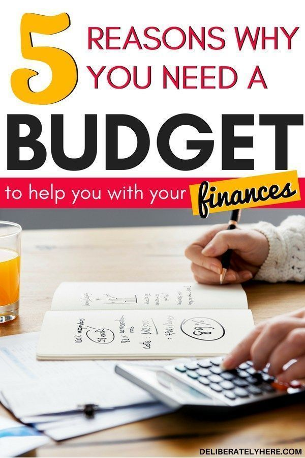 5 Reasons Why You Need a Budget #startsavingmoney