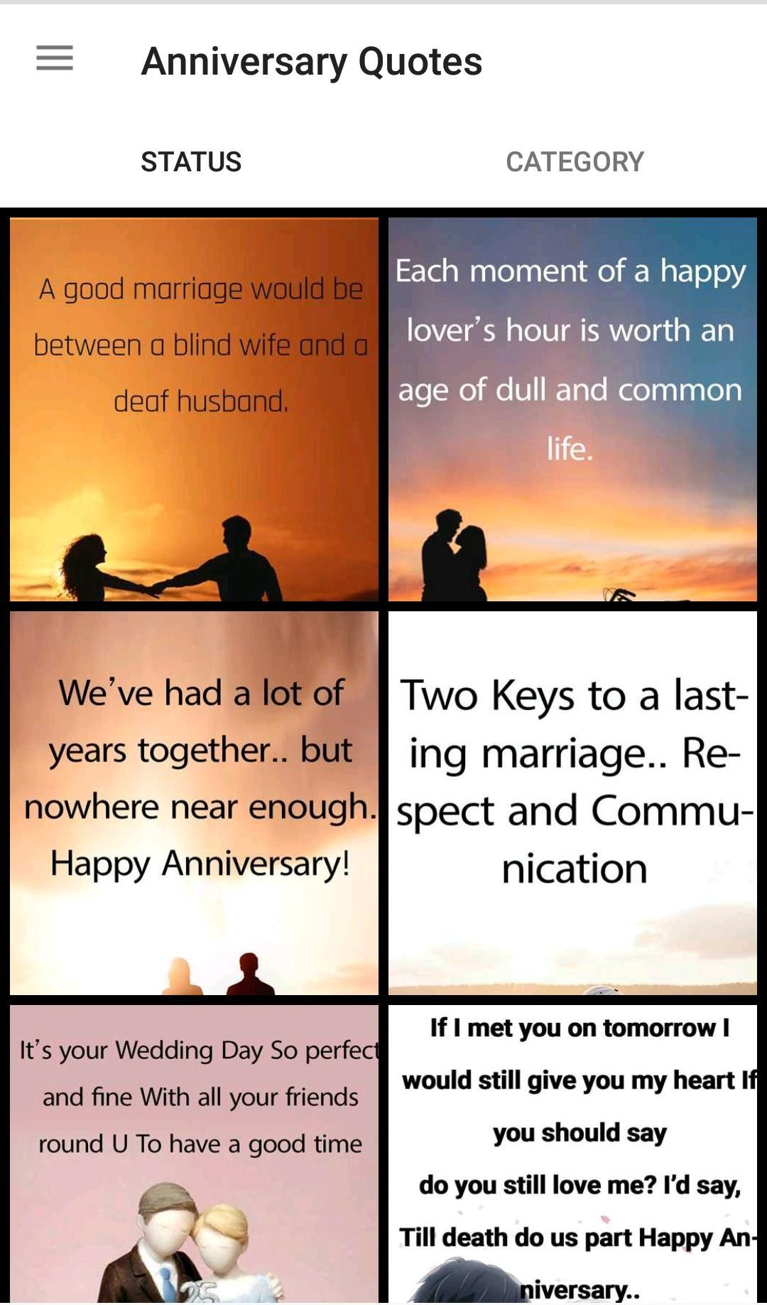 Marriage Anniversary Wishes Marriage Quotes For Android Apk Download