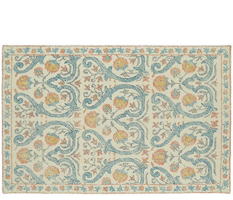 Boston Interiors The Millie C Rug Is 100 Wood Pile Handmade In India