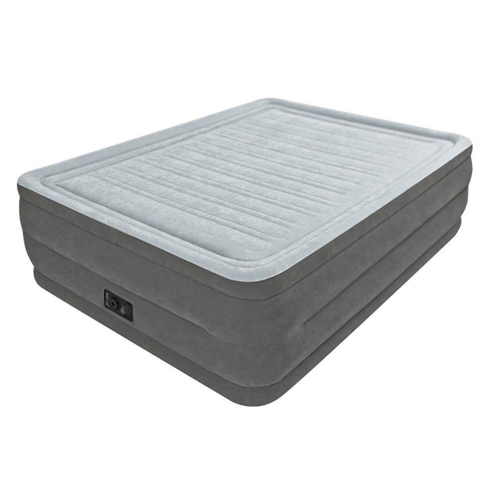 Intex Comfort Plush Elevated Dura Beam Airbed Bed Height 22