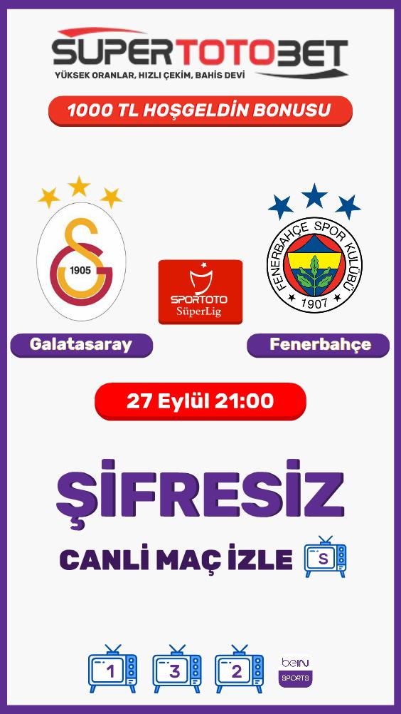 Galatasaray Fenerbahce Maci Sifresiz Canli Izle Jestbahis Tv Mac Izleme Poker