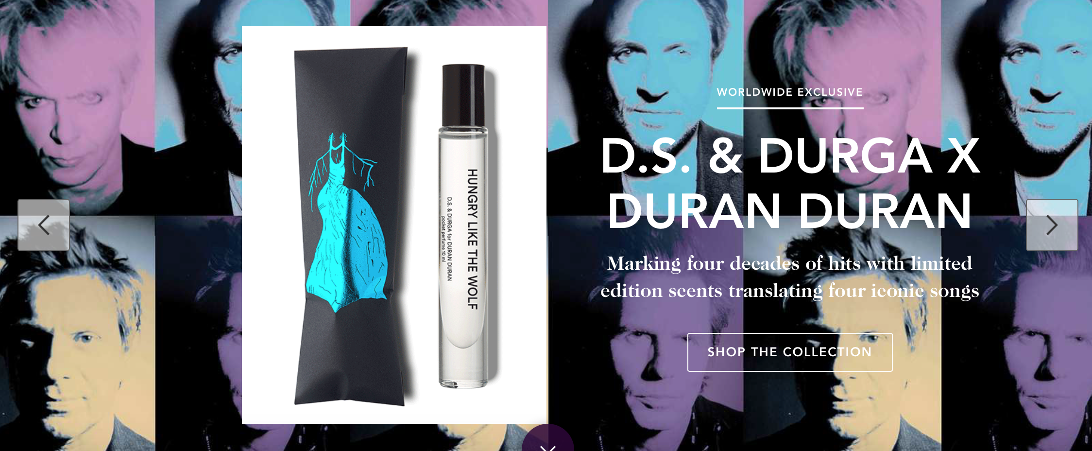 x Duran Duran Skin Divers Pocket