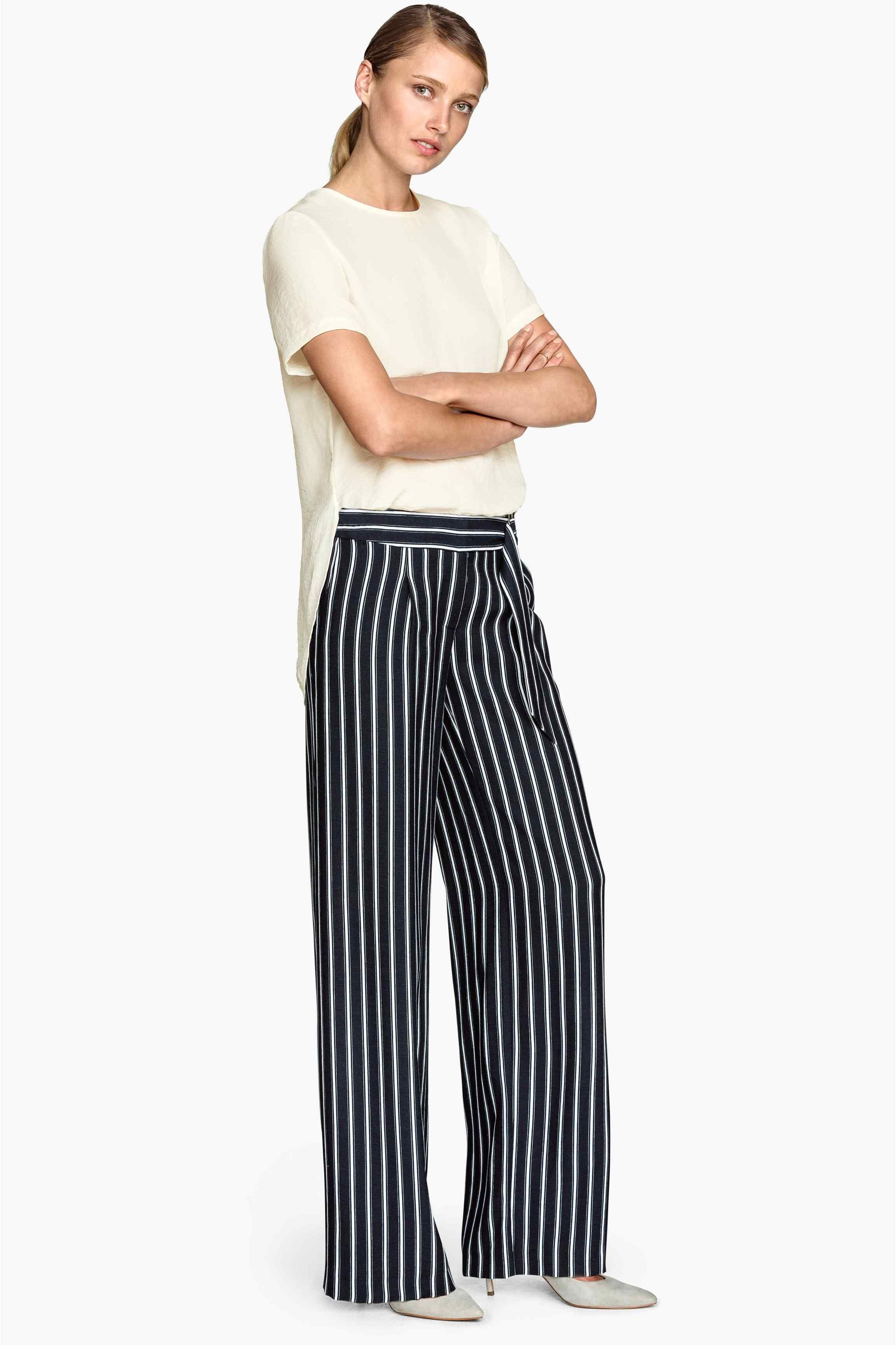 nuevo concepto 7b0ed 20ddd Pantalon large   H&M   Fashion & Makeup Style   Wide ...