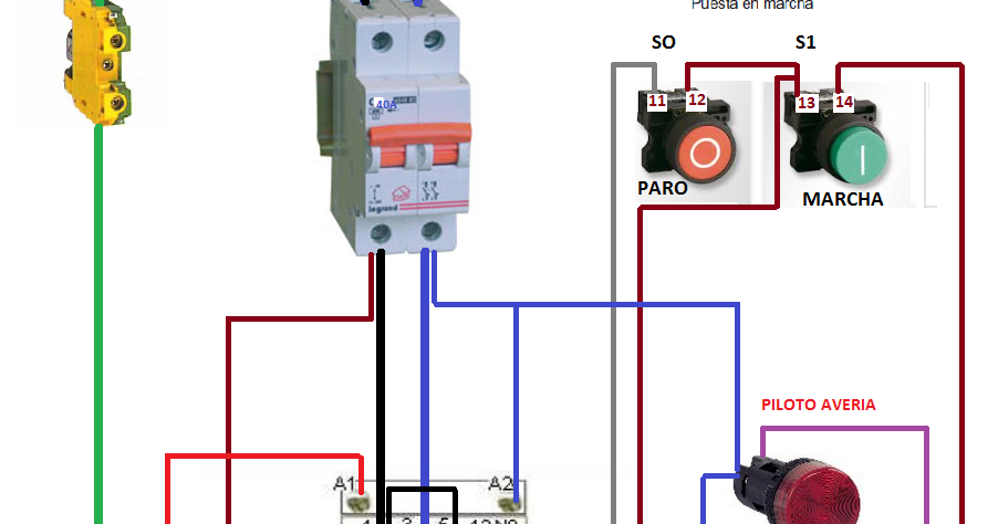 Conexion De Un Motor Trifasico A Una Red Monofasica Mediante Condensador Nikola Tesla Electrical Wiring Electricity