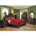 7 161 14 Yuan Tai Furniture Jasper 6 Piece Queen Bedroom Set