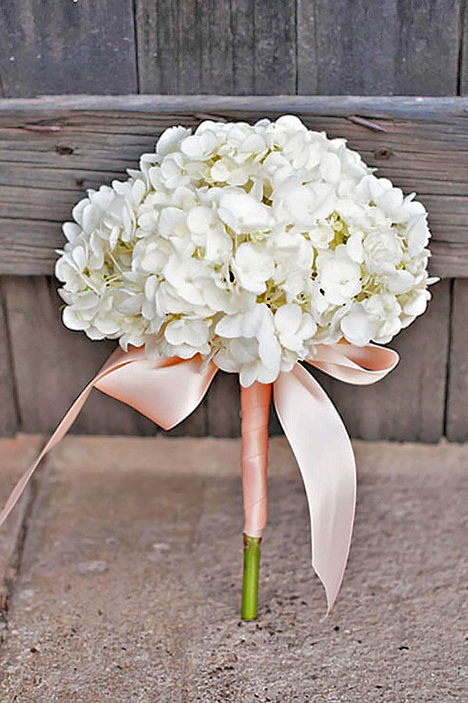 24 Stylish Single Bloom Wedding Bouquets | Weddings, Wedding and ...