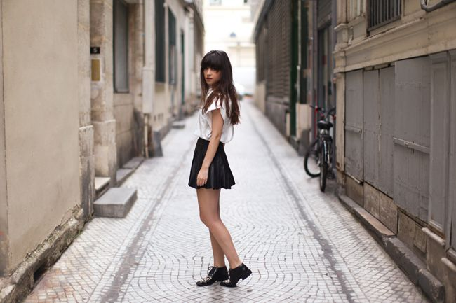 Le Blog de Betty / Skoolgal //  #Fashion, #FashionBlog, #FashionBlogger, #Ootd, #OutfitOfTheDay, #Style