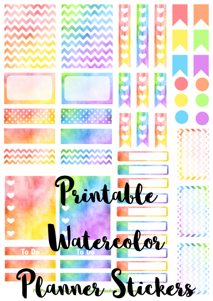It's just a photo of Unforgettable Erin Condren Printable Stickers