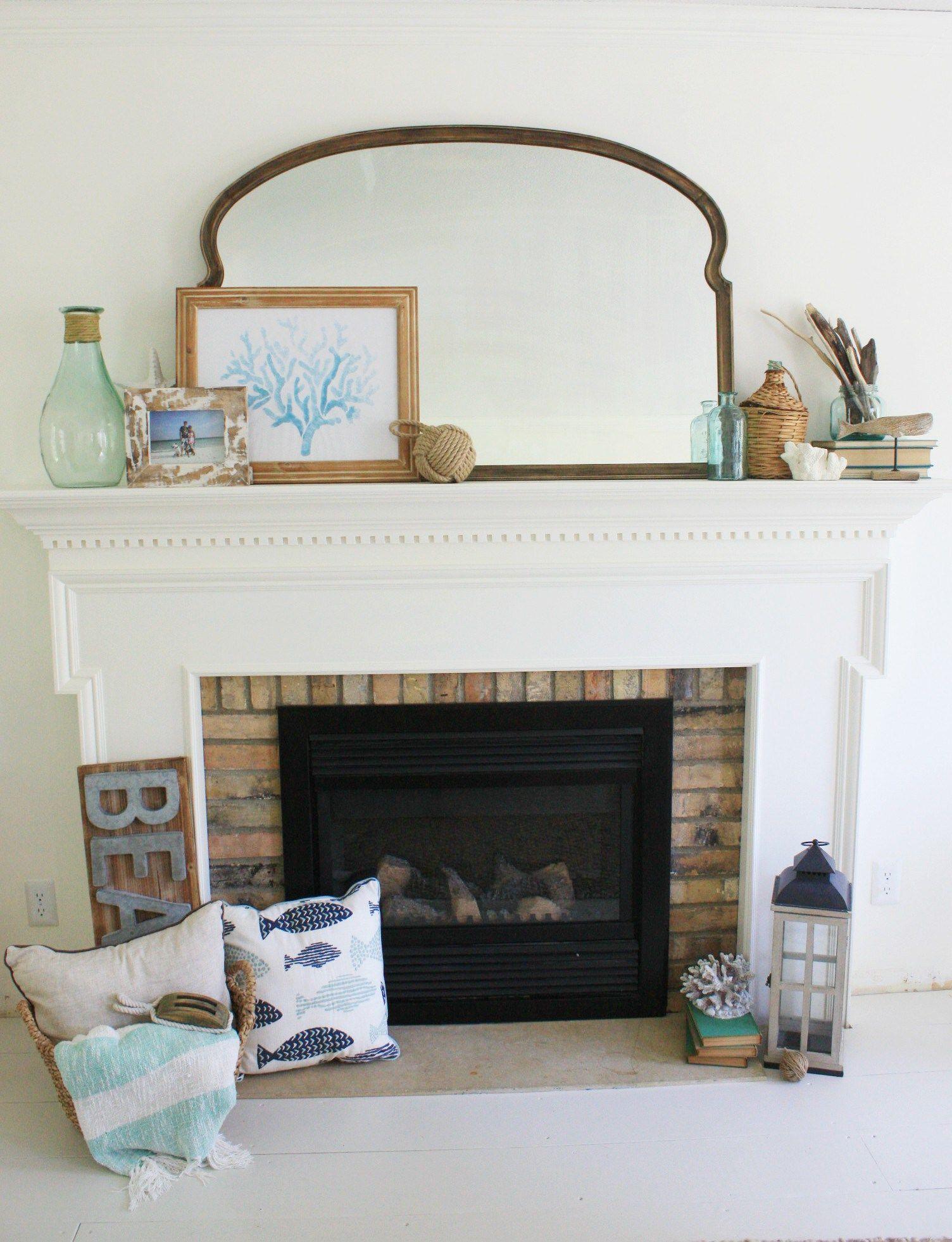 Beach Days Of Summer Living Room Decor Coastal Decorating Decor