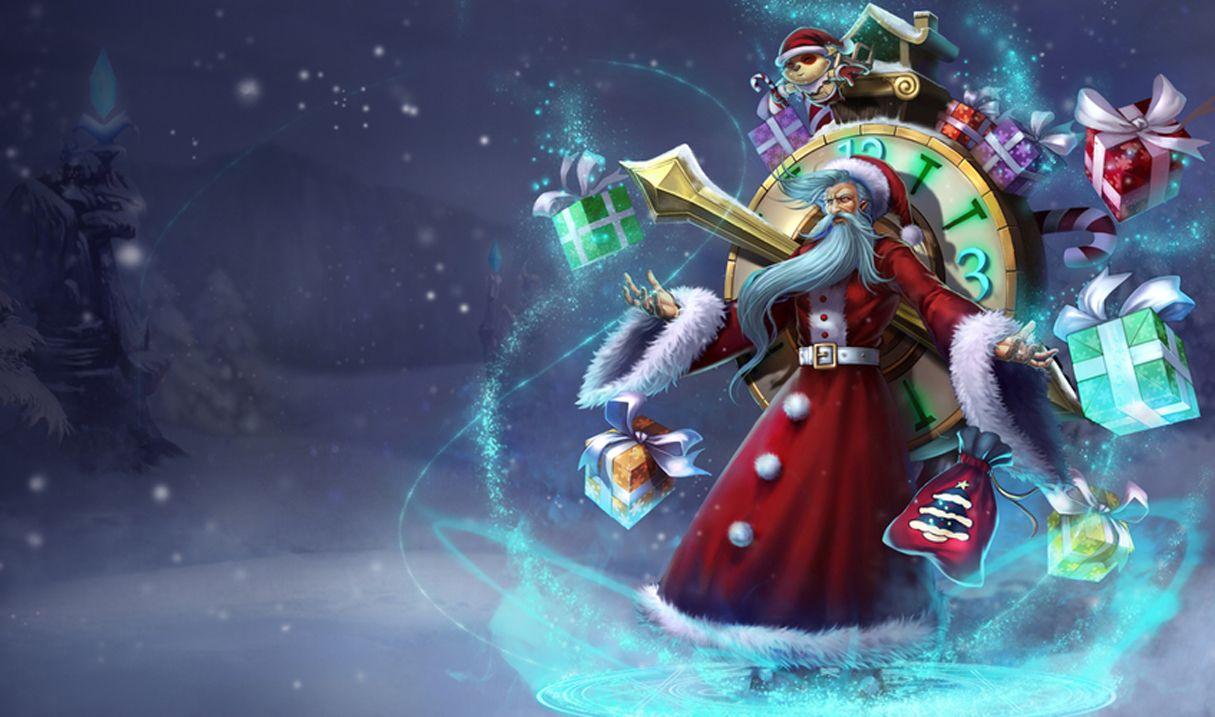 Old Saint Zilean League Of Legends Lol Champion Skins