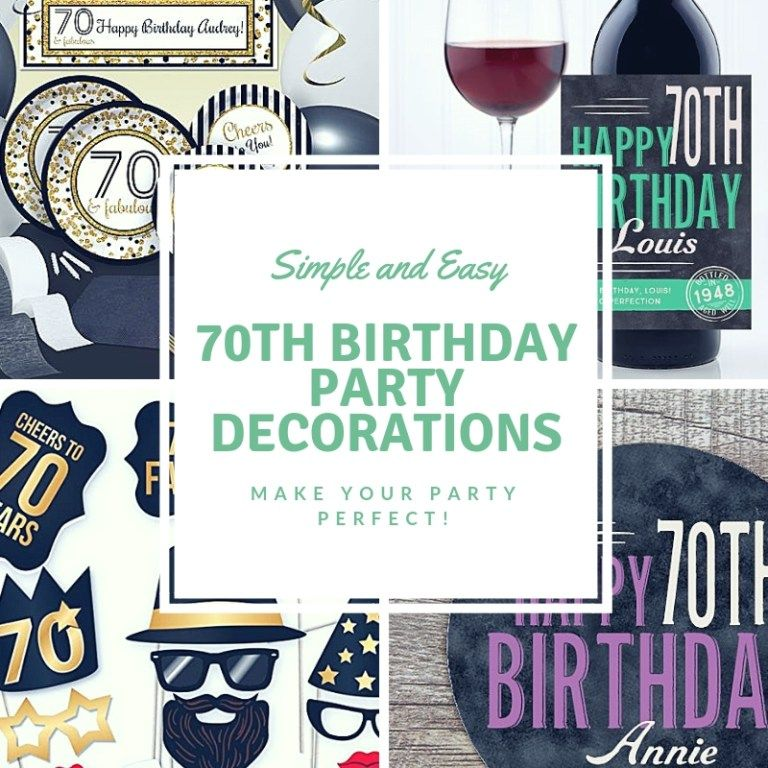 th birthday decorations ideas for the perfect party these simple and easy decoration will make your great also rh pinterest