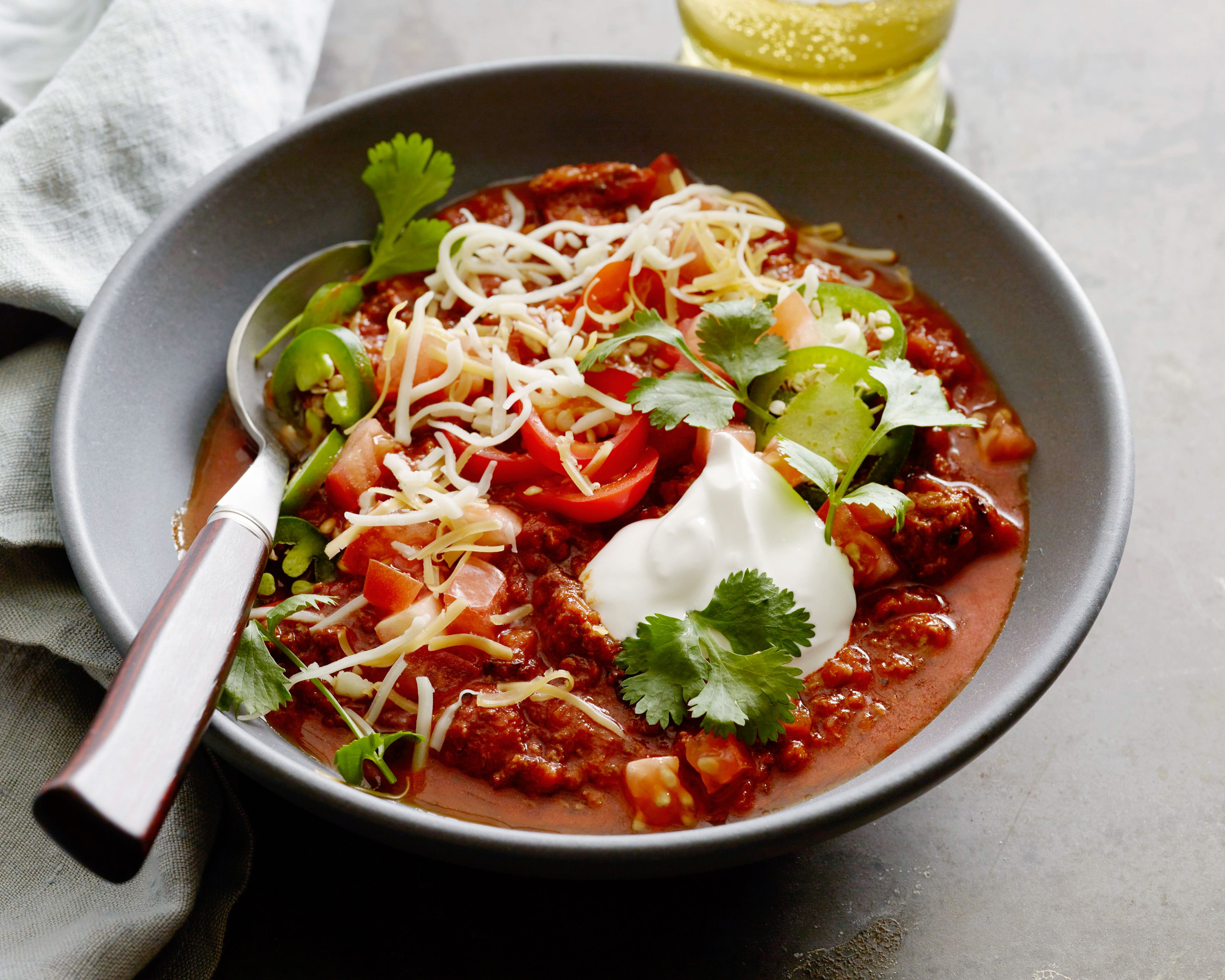 Game Day Chili Recipe Food Network Recipes Game Day Chili Recipe Recipes
