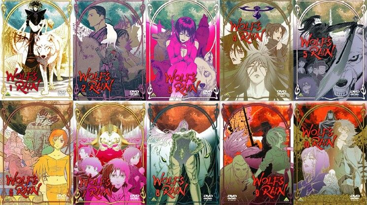 Volume Cover Arts Wolf S Rain Art Anime Love