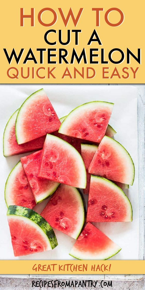 Photo of How To Cut A Watermelon