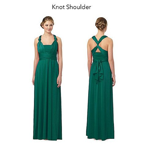 Debut Green multiway evening dress | Debenhams | Jo\'s Wedding ...