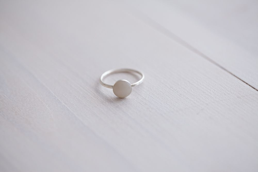 Diy breastmilk keepsake jewellery kit circle ring
