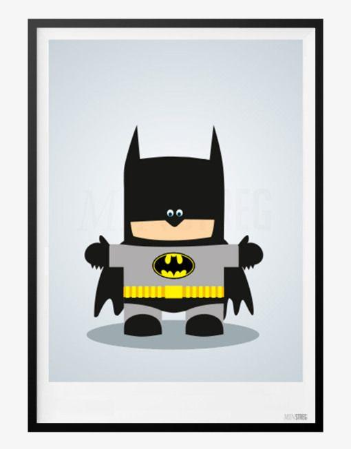 Plakat Til Bornevaerelset Med Batman Plakater Drengevaerelser