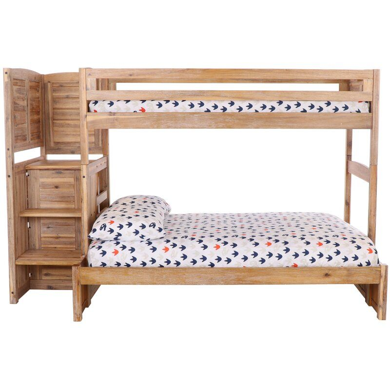 Greyleigh Orval Twin Over Full Bunk Bed With 4 Drawers Reviews Wayfair