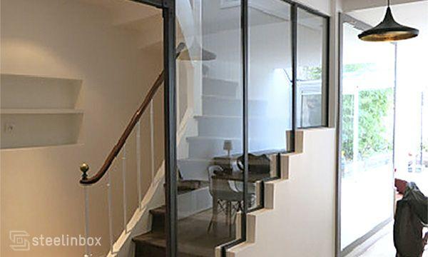 La verrière escalier Steel in box Deco Pinterest Boxes, In
