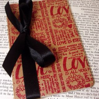 DIY Moleskine notebook cover   Valentine gifts, Small ...