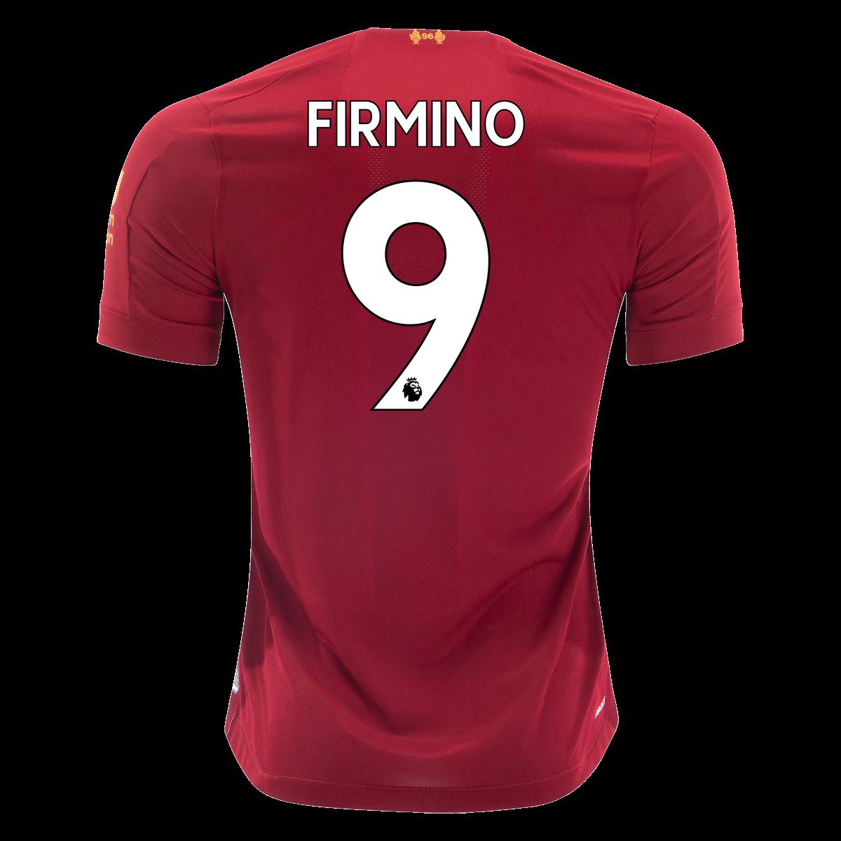 New Balance Roberto Firmino Liverpool Home Jersey 19/20
