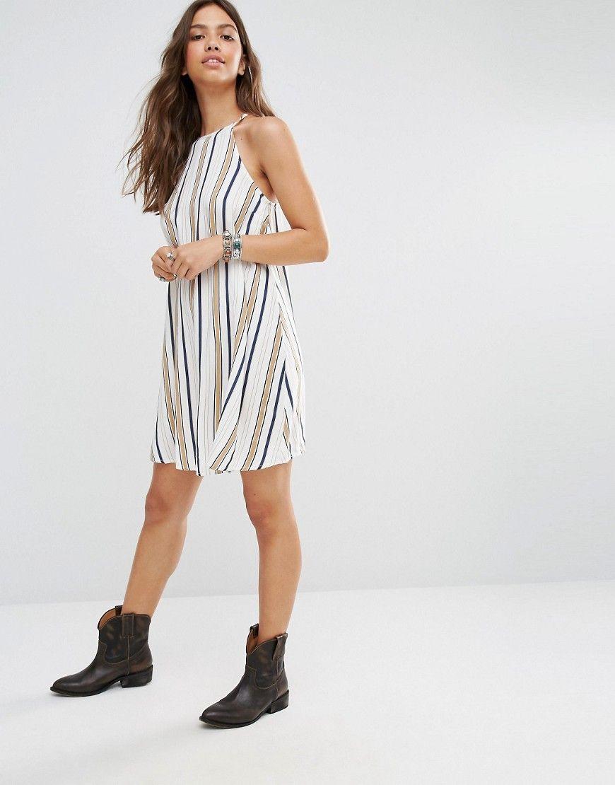 Image 4 ofNew Look Stripe Cami Dress