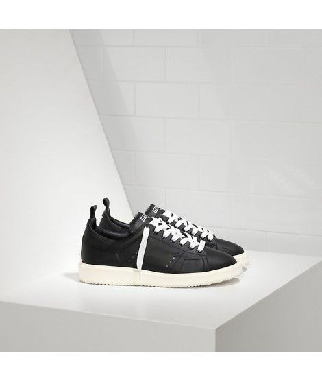 Golden Goose Starter Sneakers In Black