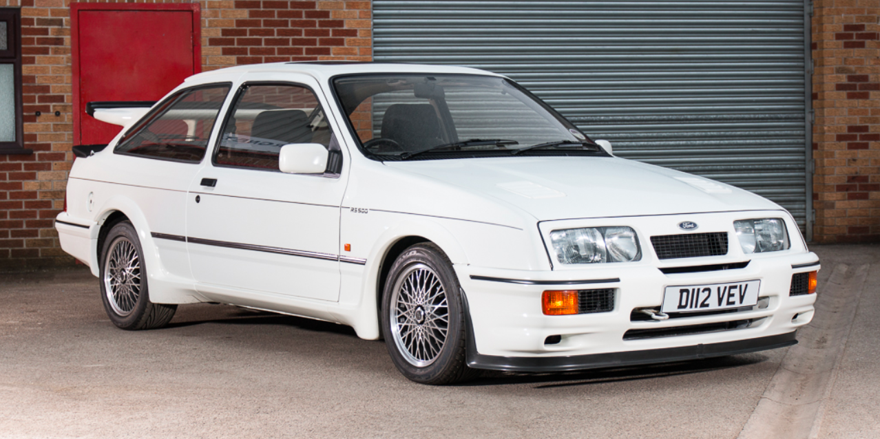 Ford Sierra Cosworth Rs500 Chassis Number One Is Currently For