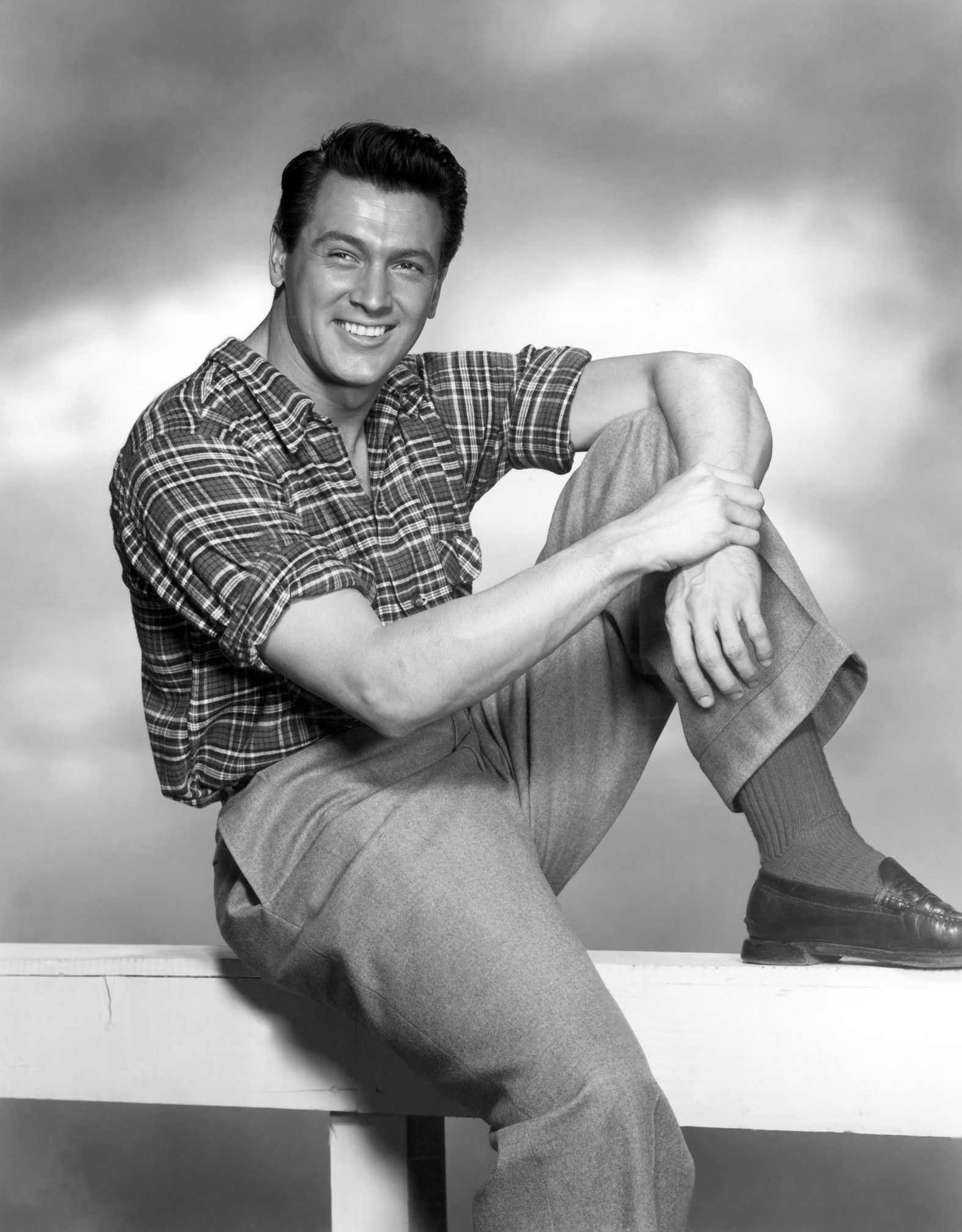 """""""Someone asked me once what my philosophy of life was, and I said some crazy thing. I should have said, how the hell do I know?"""" #RockHudson"""