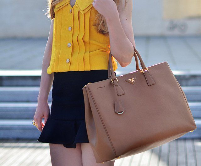2534b03aa262f6 Saffiano Lux Tote by Prada | Mi forma de vestir... | Prada saffiano ...