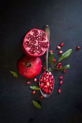 The Year's Biggest Health And Fitness Trends  pomegranate, styled    This image has get 11 repins....