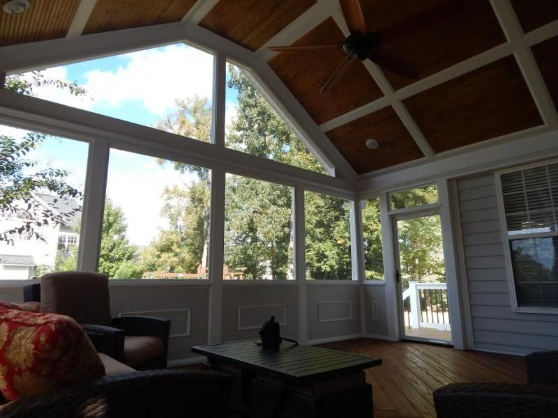 Screen Porch Pictures By Pro Built Construction Raleigh