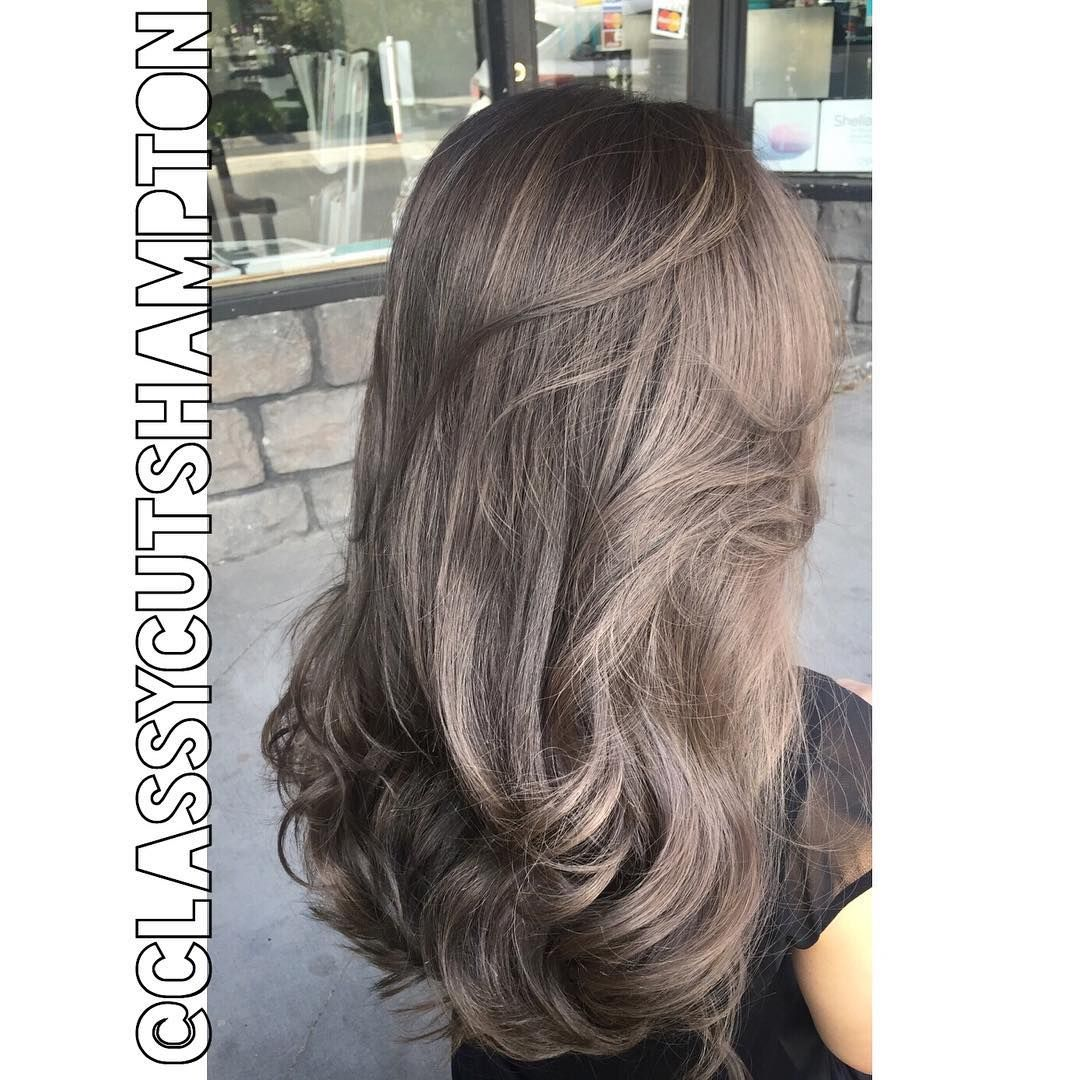 And Here It Is A Beautiful Smokey Dark Ash Blonde With A Hint Of