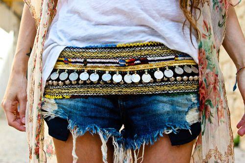 Gypsy oriental belt