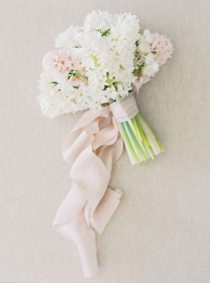Simplistic Springtime Wedding Inspiration at Sunrise - Once Wed ...