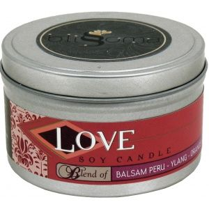 Blissoma by Irie Star - Love Aromatherapy Soy Candle Travel Tin