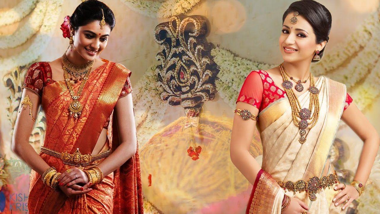 7febd369208e0c #saree #sari #sareedraping #silksareedraping #pattusaree - 3 Gorgeous Ways  To Wear Wedding South Indian Silk Saree With Thin Perfect Pleats| Look Slim  and ...