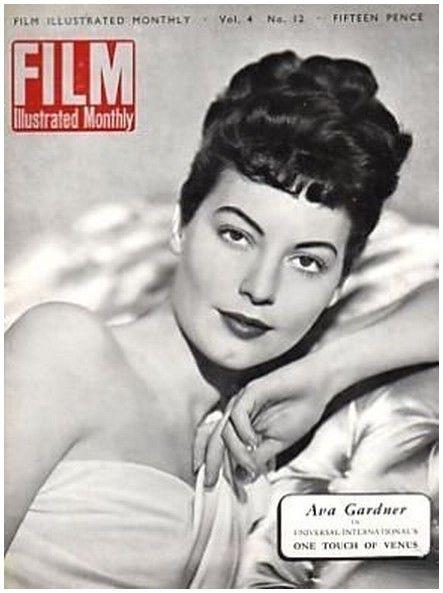 Ava Gardner - Film Magazine - December 1949