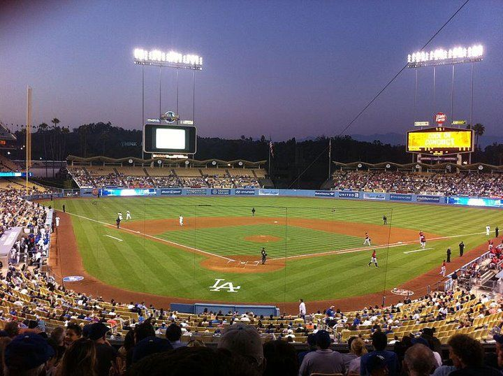 Dodger Stadium Home Of Los Angeles Dodgers Seating Capacity 56000 Opened 1962 Daily