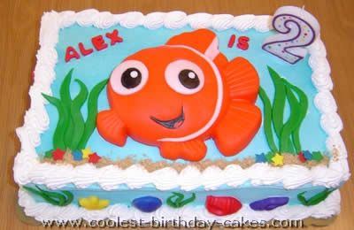 Coolest Finding Nemo Cakes Nemo Cake Finding Nemo And Finding - Finding nemo birthday cake