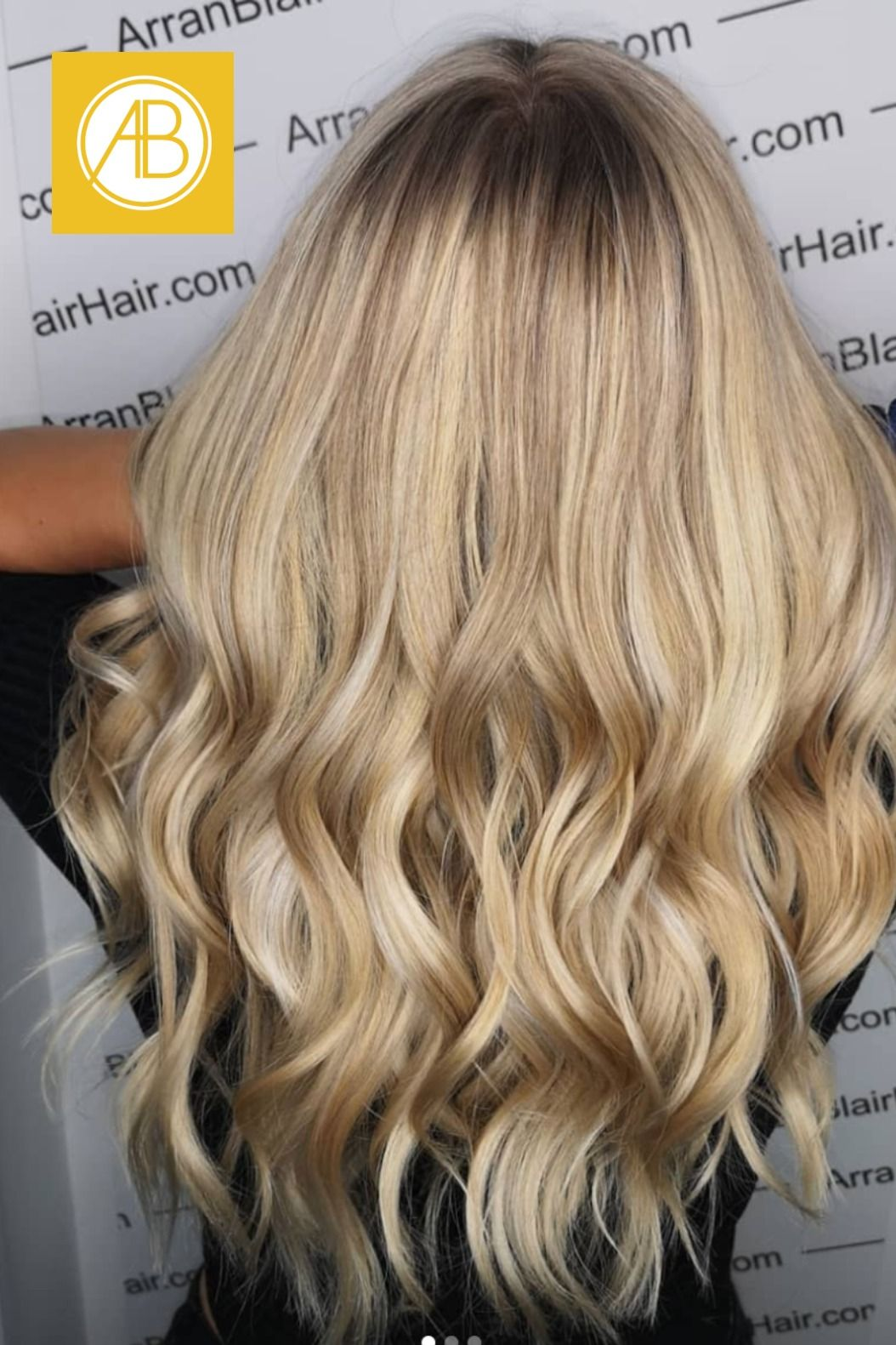 Check out the different tones in this highlighted hair