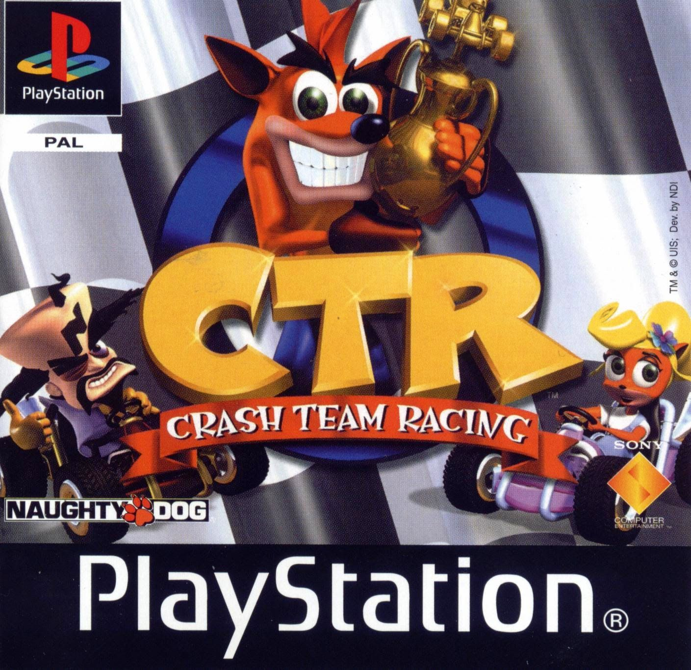 Download Ctr Crash Team Racing Iso Game Ps 1 Psx Download