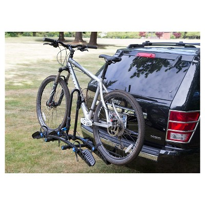 Advantage Sports Rack Flat 2 Bike Carrier Black Freestanding Sport
