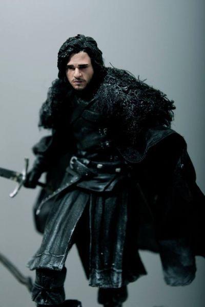 Jon Snow (Game of Thrones) Custom Action Figure Jon snow