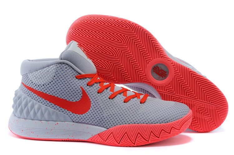 Find Nike Kyrie Irving 1 Grey Red Basketball Shoes On Sale Online Authentic  online or in Pumarihanna. Shop Top Brands and the latest styles Nike Kyrie  ...