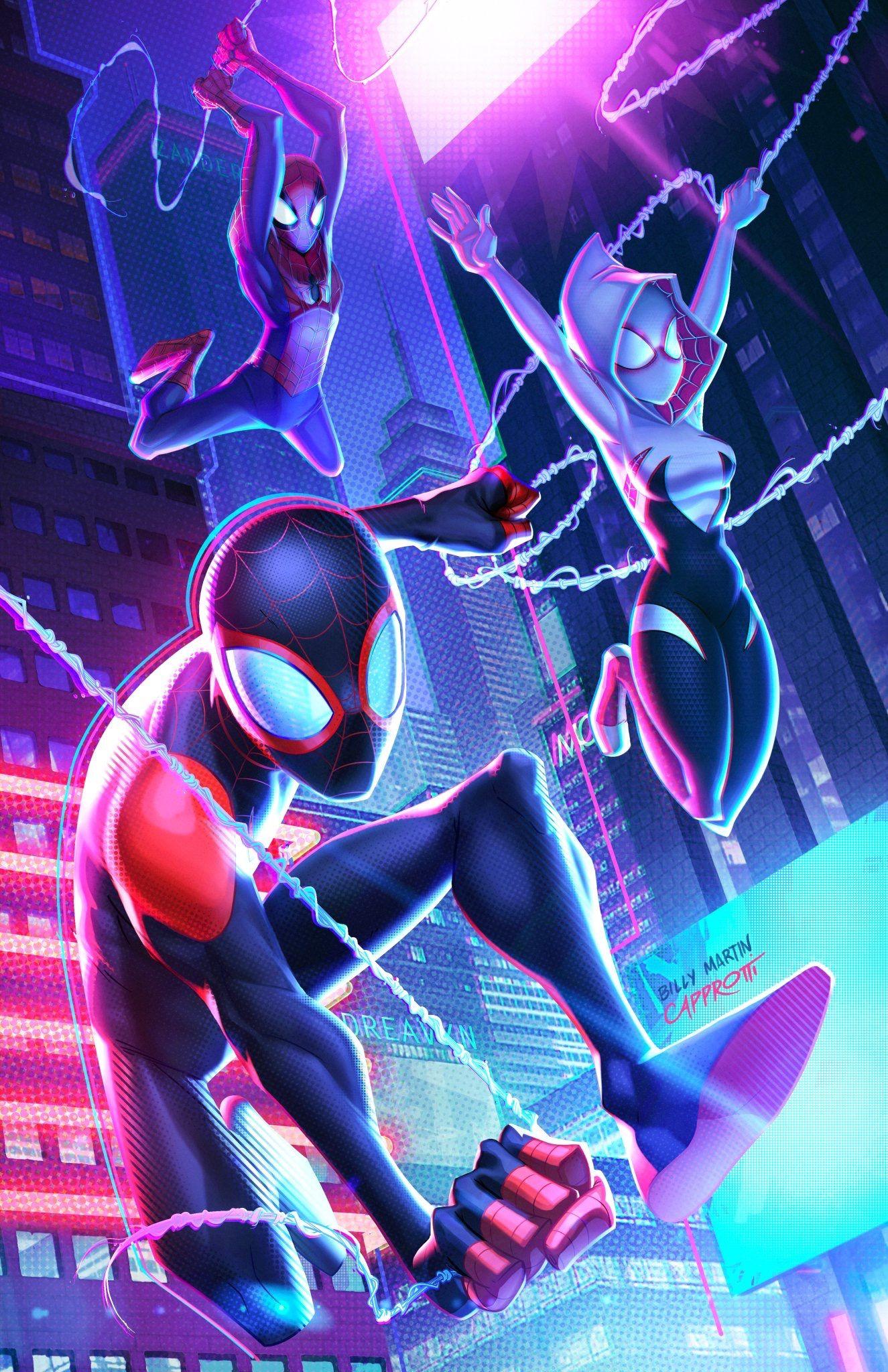Spiderman Into The Spider Verse Spiderman Marvel Spiderman Spider Verse