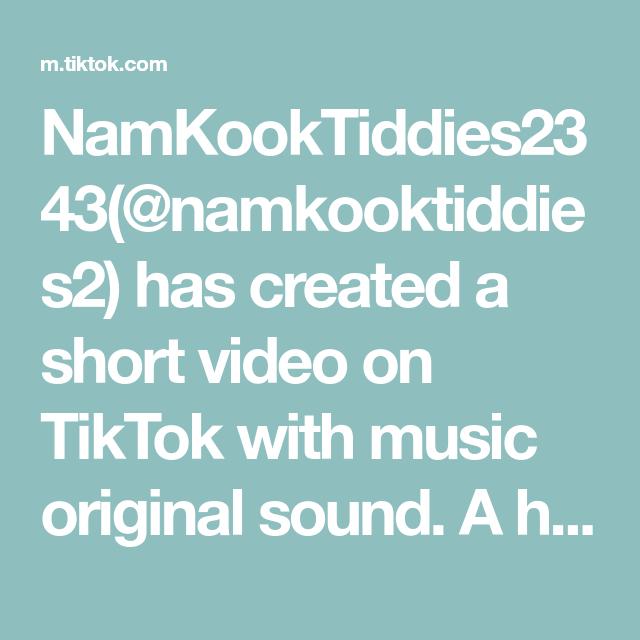 Namkooktiddies2343 Namkooktiddies2 Has Created A Short Video On Tiktok With Music Original Sound A Hidden Wallpaper Of Jhope B Bts Boys Music Lee Know