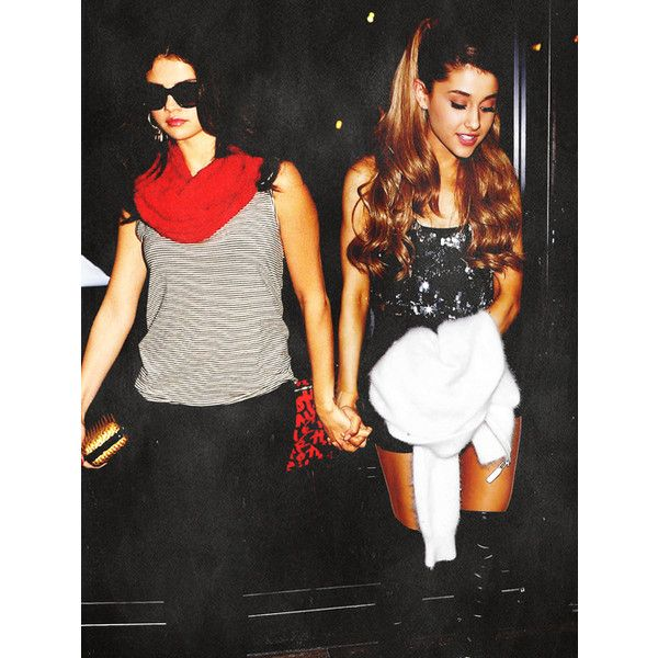 Tumblr ❤ liked on Polyvore featuring ariana grande and selena